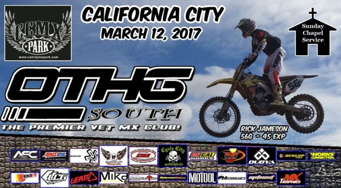 OTHG RACE – March 12, 2017 @ California City w/Valley Chapter