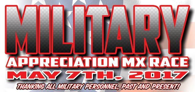 Military Appreciation MX Race ~ Perris Raceway ~ May 7, 2017