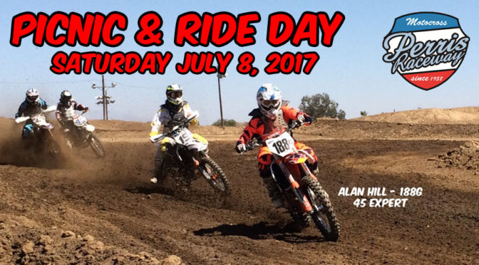 Club Picnic & Ride Day – July 8, 2017