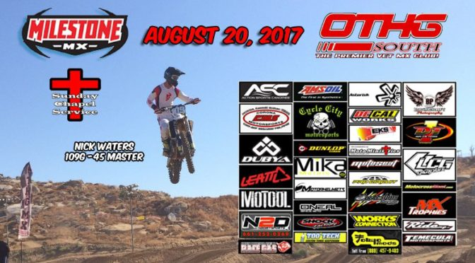 OTHG RACE – Aug 20, 2017 – Milestone MX Park