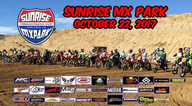 OTHG RACE – Sunrise MX Park – October 22, 2017