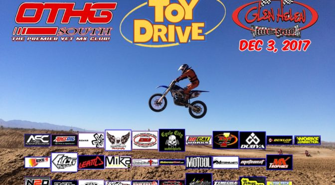 OTHG Race Dec 3, 2017 – Glen Helen ~ 3rd Annual Toy Drive
